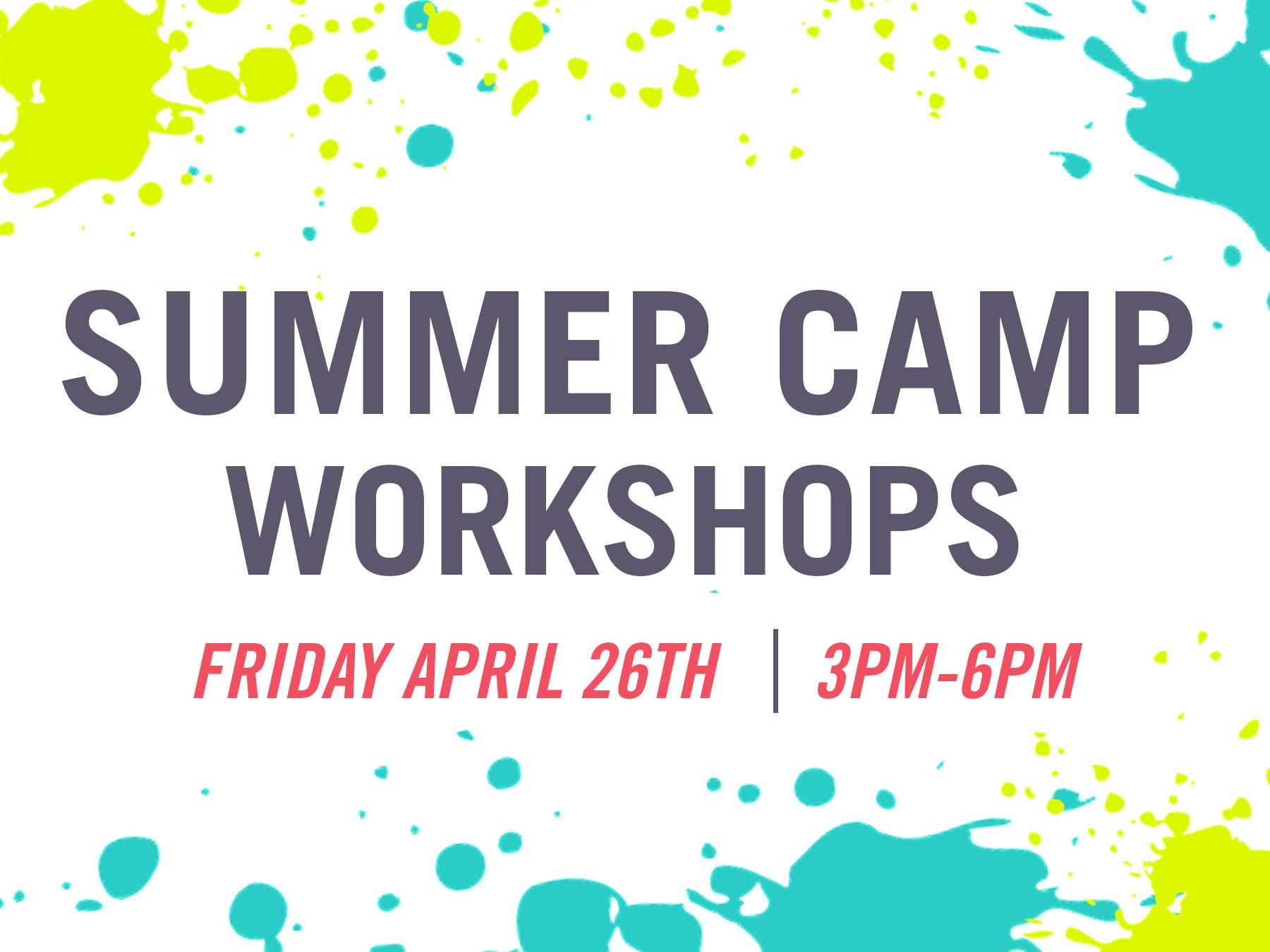 Summer Camp Wksp April 2019